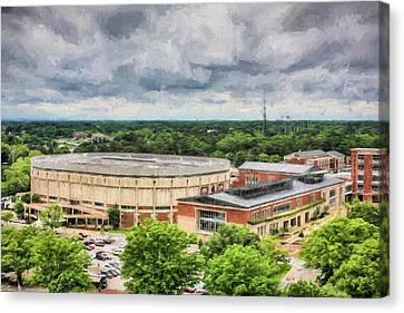 Auburn University Memorial Coliseum  Canvas Print