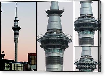 Canvas Print - Auckland Sky Tower by Joyce Woodhouse