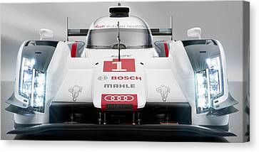 Audi R18 E Tron Canvas Print by Stephanie Hamilton