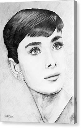 Audrey Hepburn Canvas Print by Alexander Ivanov