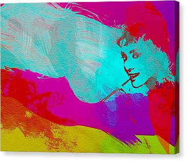 Audrey Hepburn Canvas Print by Naxart Studio