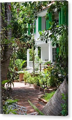Audubon House Entranceway Canvas Print