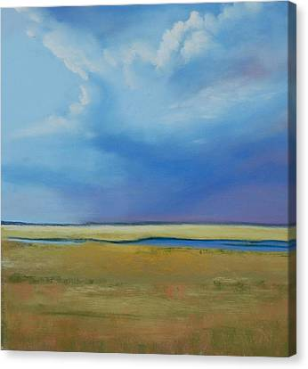 August Sky Canvas Print by Jeanne Rosier Smith