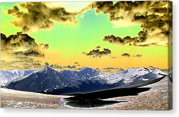 August Sky Canvas Print by Peter  McIntosh