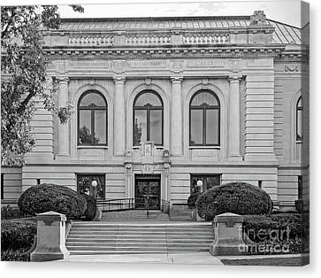 Memorial Hall Canvas Print - Augustana College Denkmann Memorial Hall by University Icons