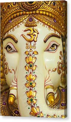 Ganapati Canvas Print - Aum Ganesha by Tim Gainey