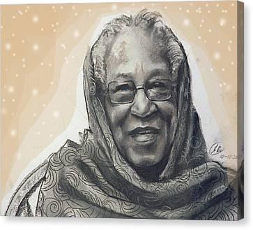 Aunt Irene Canvas Print