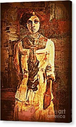 Auntie Canvas Print by Vannetta Ferguson