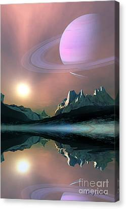 Aura Canvas Print by Corey Ford