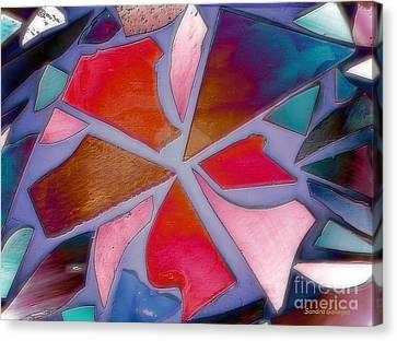 Aura In The Mirror Canvas Print