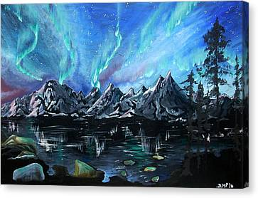 Aurora Borealis 1 Canvas Print
