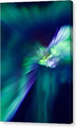 Aurora Corona Canvas Print