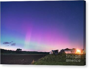 Aurora Energized Pepper Fields Canvas Print