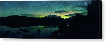 Aurora Glow  Canvas Print