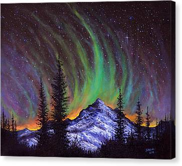 Aurora  Magic Canvas Print by C Steele