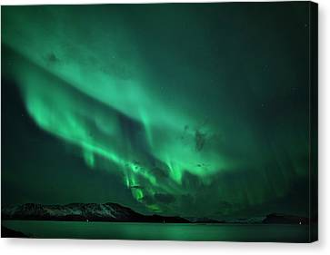 Aurora Over Seiland Canvas Print by Espen Ørud