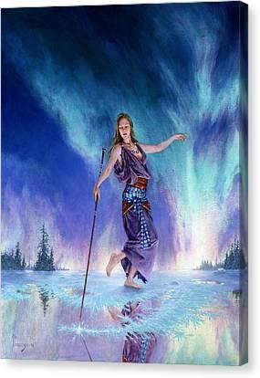 Aurora Canvas Print by Richard Hescox