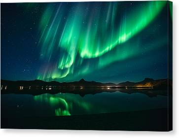 Aurora Surprise Canvas Print by Tor-Ivar Naess