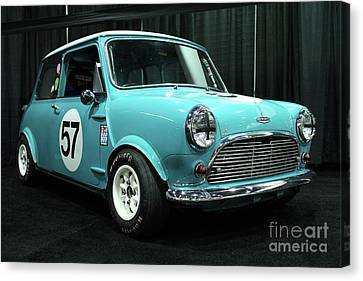 Austin Cooper Canvas Print by Wingsdomain Art and Photography