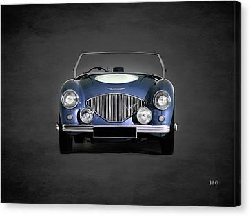 Austin Healey 100 Canvas Print by Mark Rogan