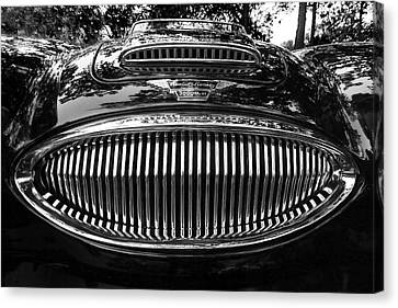Austin Healey 3000 Mkiii Canvas Print by Alan Raasch