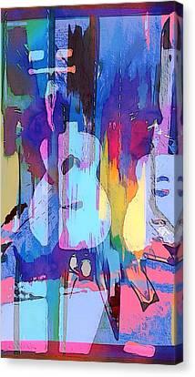 Austin Music Canvas Print