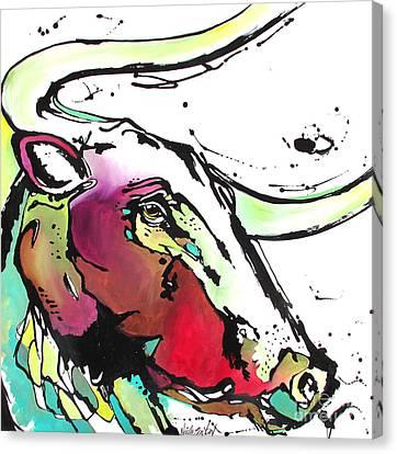 Austin Canvas Print by Nicole Gaitan