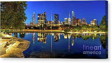 Austin Skyline View Canvas Print by Tod and Cynthia Grubbs