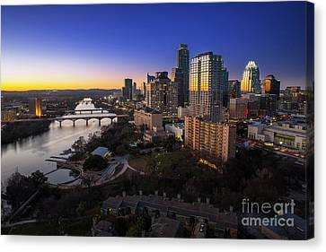 Austin, Texas Proudly Claims The Best Downtown Skyline In Texas Canvas Print