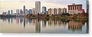 Austin Wide Shot Canvas Print by Frozen in Time Fine Art Photography