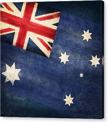 Australia  Flag Canvas Print by Setsiri Silapasuwanchai