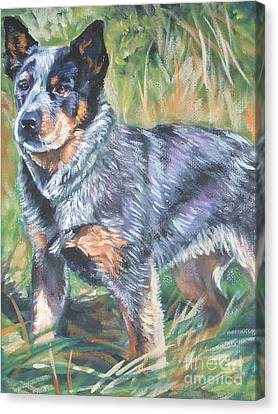 Cattle Dog Canvas Print - Australian Cattle Dog 1 by Lee Ann Shepard