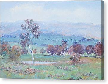 Australian Landscape Canvas Print by Jan Matson