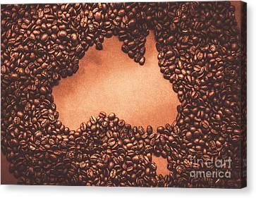 Australian Made Coffee Canvas Print