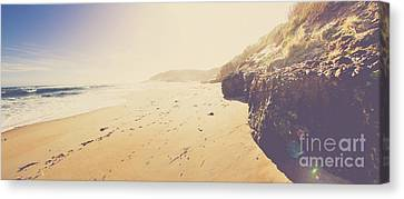 Australian Retro Beach Paradise  Canvas Print by Jorgo Photography - Wall Art Gallery