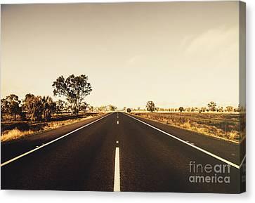 Australian Rural Road Canvas Print by Jorgo Photography - Wall Art Gallery