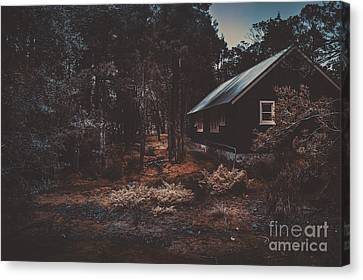Australian Shack In A Dense Autumn Forest Canvas Print by Jorgo Photography - Wall Art Gallery