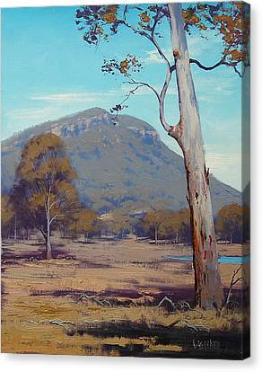Australian Summer Hartley Canvas Print by Graham Gercken