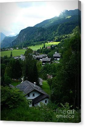 Austrian Landscape Canvas Print by Carol Groenen