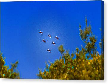 Australian Roulettes Formation Over North Head Sydney Canvas Print