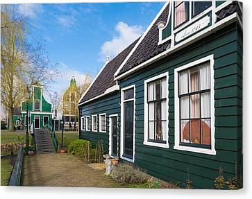 Zaandijk Canvas Print - Authentic Dutch Houses by Hans Engbers
