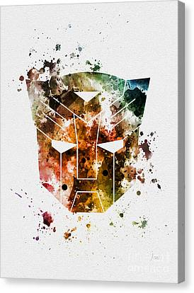 Prime Canvas Print - Autobots by Rebecca Jenkins