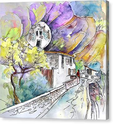 Autol In La Rioja Spain 03 Canvas Print by Miki De Goodaboom
