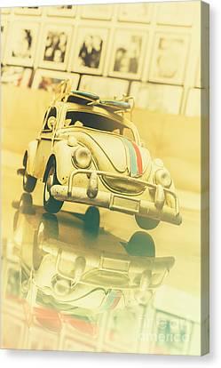 Automotive Memorabilia Canvas Print by Jorgo Photography - Wall Art Gallery