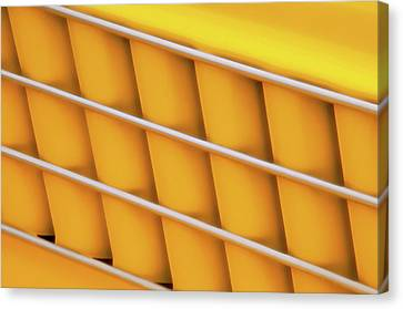 Autos As Art - Yellow Vehicle Graphic Canvas Print