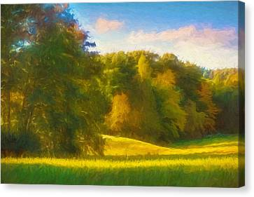 Autumn Light Canvas Print by Lutz Baar