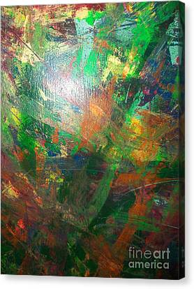 Autum Forrest 3 Canvas Print