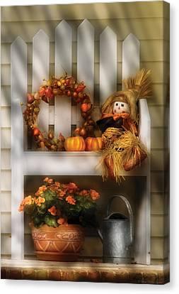 Autumn - Still Life - Symbols Of Autumn  Canvas Print by Mike Savad