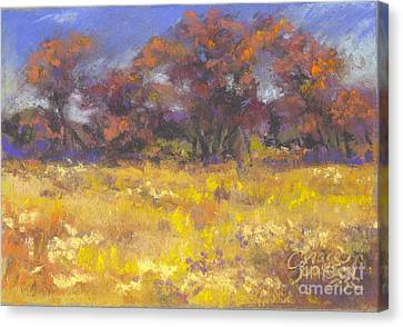 Autumn Afternoon Canvas Print by Grace Goodson