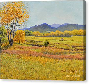 Autumn Afternoon Canvas Print by James Robert MacMillan